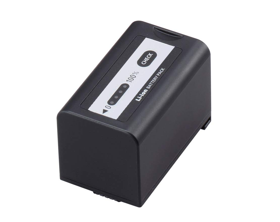 Ultra-High Capacity 'Intelligent' Lithium-Ion Battery for Panasonic AG-UX180 (3 Year Replacement Warranty)