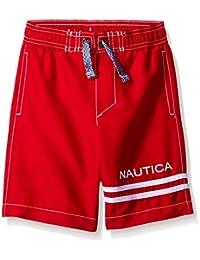 Nautica Boys' Signature Swim Trunk with Back Pocket