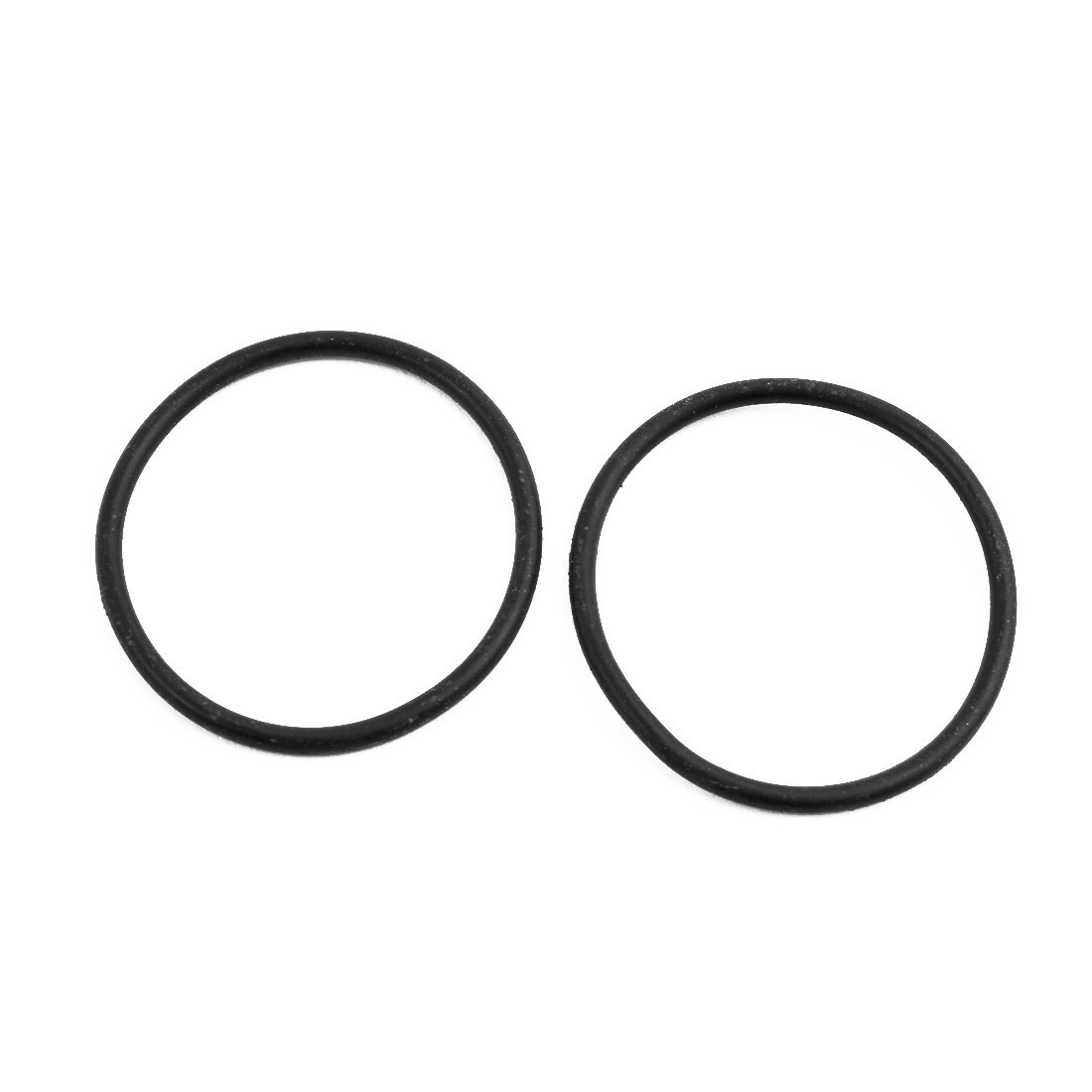 sourcing map 20pz nero 34mm diam 2 mm spessore gomma nitrile O ring tenuta NBR passacavi
