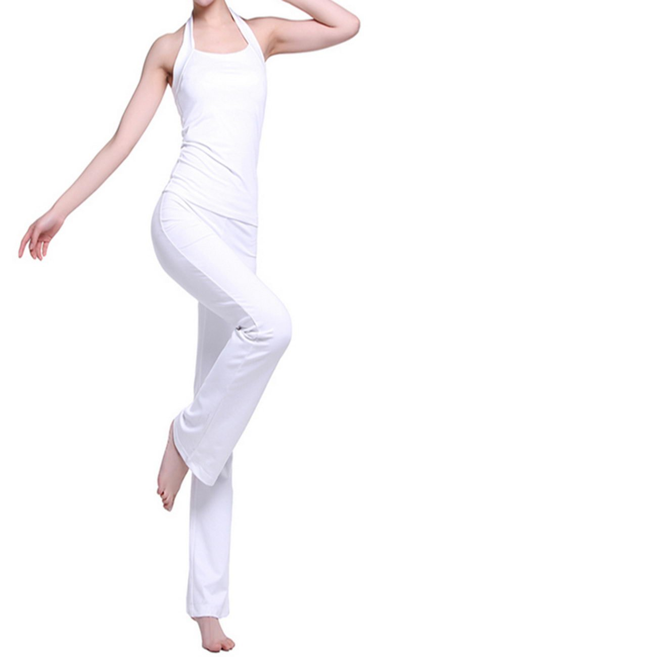WENXINJIA White, yoga clothes, suits, women, summer, fitness yoga clothes set dance clothes were thin. , Yoga clothes suit yoga clothes, yoga clothes suit jacket, yoga clothes suit jacket