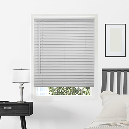 Chicology Horizontal Venetian Slat Window Shade Cordless 1-Inch Mini Blinds 70