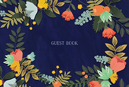 Guest Book: Modern Floral Edition (Guest Book)