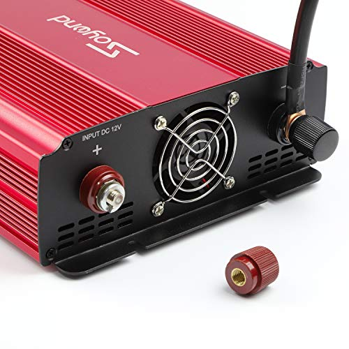 soyond 3000W Power Inverter for Home Car RV with AC Outlets Converter DC 12V in to AC 110V Out by soyond (Image #6)