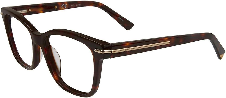 Eyeglasses Nina Ricci VNR 017 Shiny Havana 714