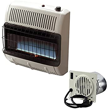 Amazon Com Pro Com Dual Fuel Blue Flame Wall Heater