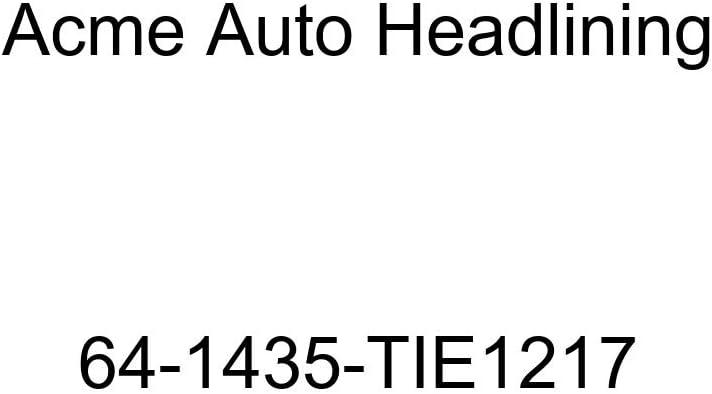 Chevrolet Chevy II 2 /& 4 Door Sedan 5 Bow Acme Auto Headlining 64-1435-TIE1217 Ginger Replacement Headliner