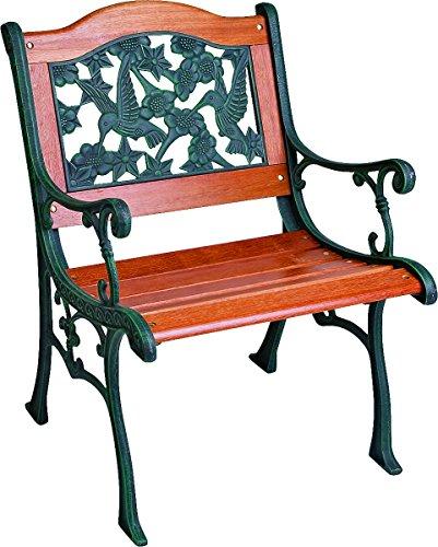 Worldwide Sourcing Sxl-7104s-n Cast Iron Hummingbird Chair