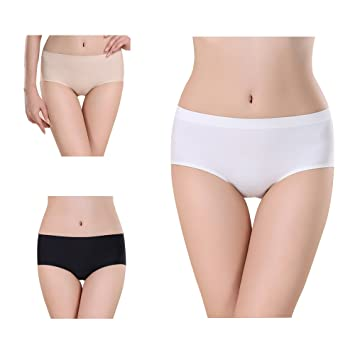 Judy para mujer Slip 3 Pack – Modal – Ropa interior suave algodón – Sexy transpirable