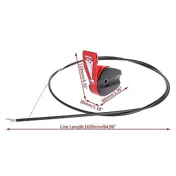 Manyo - control de palanca universal de 65 pulgadas, cable de ...