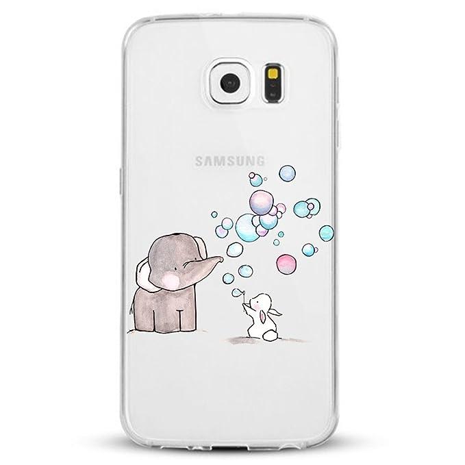 Amazon.com: Neivi - Carcasa rígida de TPU para Galaxy S6 ...
