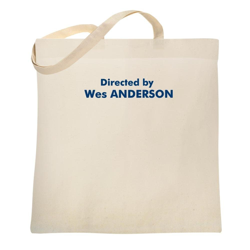 Directed by Wes Anderson Natural 15x15 inches Canvas Tote Bag 15x15 1364437