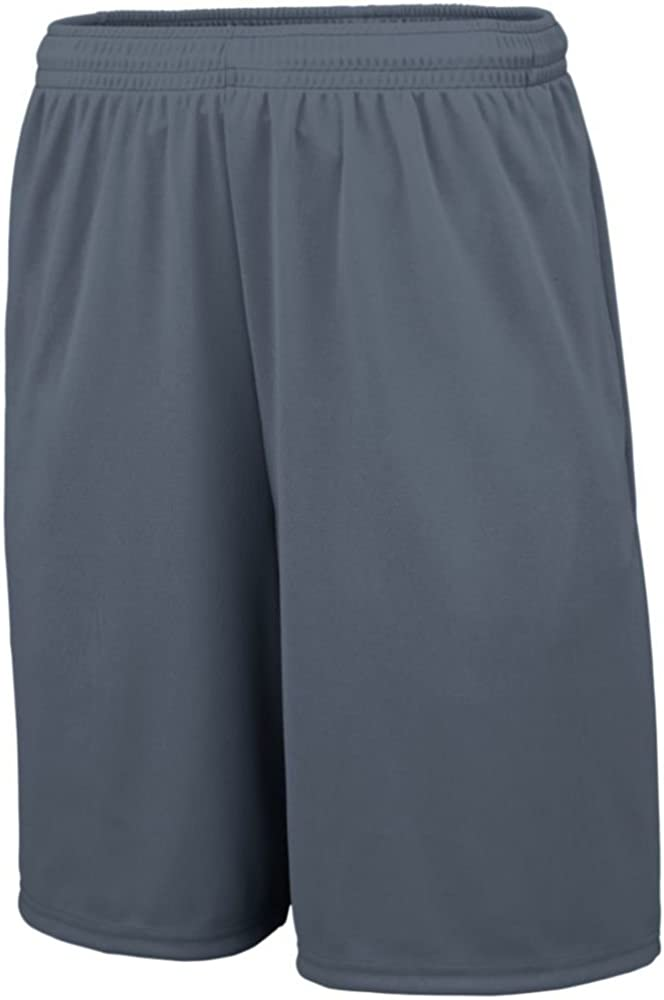 Augusta Sports Mens Training Short with Pockets Pack of 3