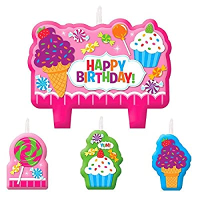 Candle Set | Sweet Shop Collection | Birthday: Toys & Games