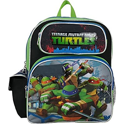 """Ruz Teenage Mutant Ninja Turtles Toddler 12"""" Backpack …   Kids' Backpacks"""