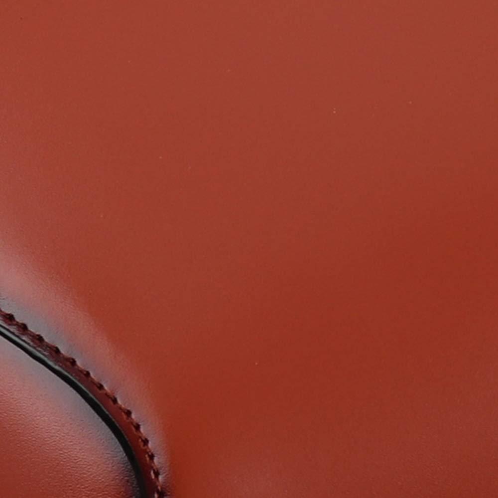 Womens Messenger Bags olja vax äkta läder axel handväska liten kvadratisk kors kropp väskor vintage top handtag väska BRUN