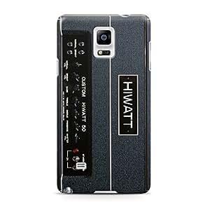 Hot HIWATT DR504 Custom Guitar Amp Head Full Wrap Rough Case Skin, Fashion Design Image Custom , Durable Hard 3d Case Cover for Samsung Galaxy Note 4 Regular Case New Design