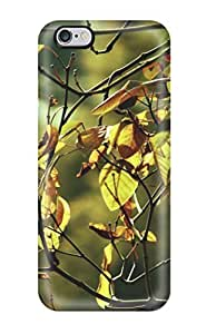 IulQwgx1071lERjp Branch Leaves Shining Light Through Yellow Green Focus Bokeh Simple Natural Soothing Peace Ca Nature Other Fashion Tpu 6 Plus Case Cover For Iphone