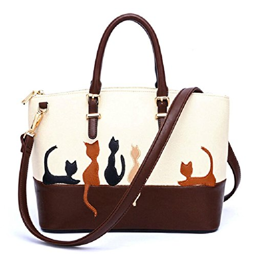 Bag Cross Handbag Shoulder Purse Cat Messenger BBring Body Leather Women qfwOXIB
