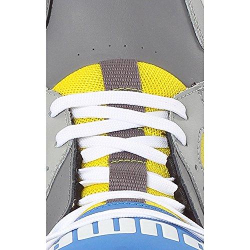 PUMA Herren grau Sneaker gelb PUMA Herren 8qY1g
