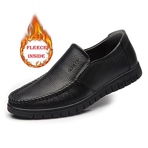 Warm On Hombre Outsoles 45 Zapatos Warm Jiuyue Loafer EU Slip shoes Oxford Hombre Bk Color Large para Oxfords Formales Zapatos Soft Size tamaño BN qRwYStwB