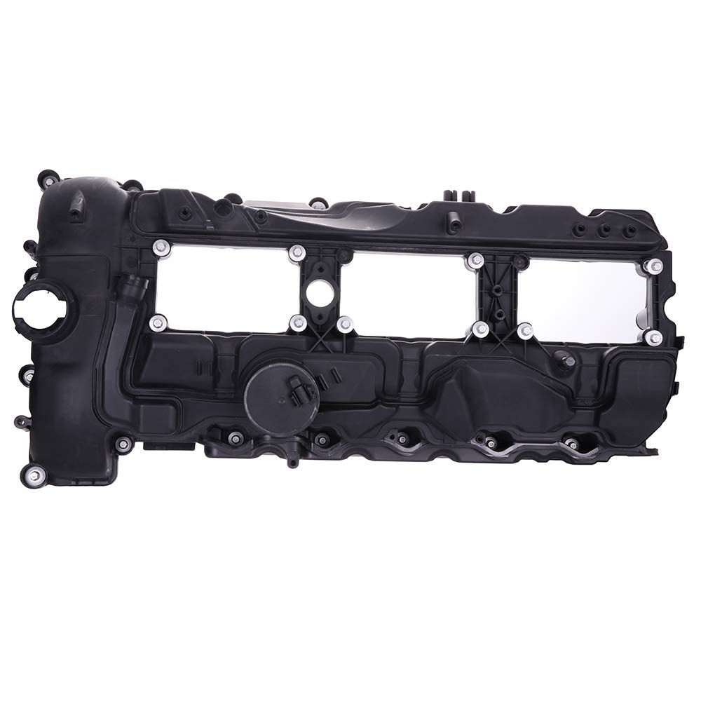 ECCPP Valve Cover with Valve Cover Gasket for 2011-2014 BMW 135i 335i 535i X1 X3 X5 X6 xDrive35i N55 Compatible fit for Engine Valve Covers Kit by ECCPP