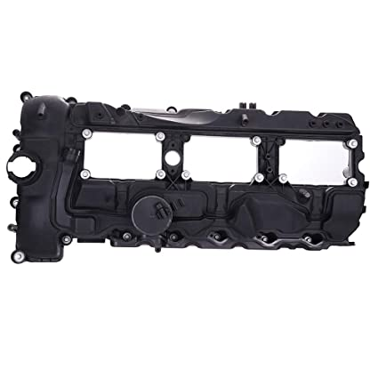 ECCPP Valve Cover with Valve Cover Gasket for 2011-2014 BMW 135i 335i 535i  X1 X3 X5 X6 xDrive35i N55 Compatible fit for Engine Valve Covers Kit