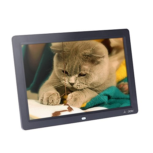 Andoer Digital Photo Picture Frame 12 inch HD TFT-LCD 1280 x 800 Full-view Picture Screen