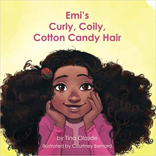 Emis Curly Coily Cotton Candy Hair