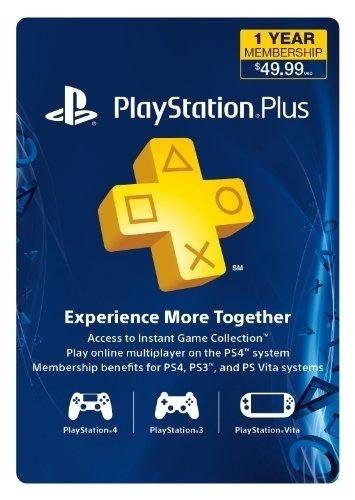 Sony   Psn Live Subscription Card 12 Month Membership For Ps3 Ps4 Psvita