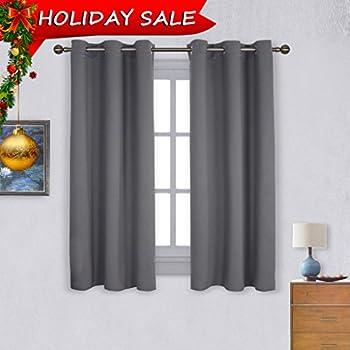 Amazon.com: NICETOWN Bedroom Blackout Curtains Panels - Window ...