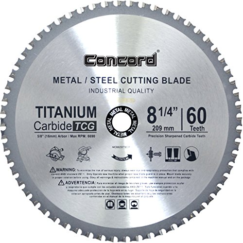 8 inch metal cutting blade - 3