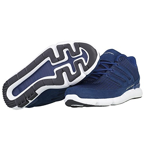 Adidas - Ecrunning - BB5529 - Colore: Azzuro-Bianco-Nero - Taglia: 43.3