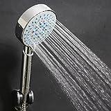 seguryy 1 pommeau de douche Multi-fonctions-Argent - 5 Fixation Economiseur d'eau pour salle de bain douche