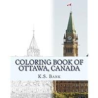 Coloring Book of Ottawa, Canada