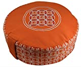 Orado Products Premium Zafu Meditation/Yoga Cushion filled with 100% USA grown Organic Buckwheat Hulls- Perfect for daily Meditation or Yoga