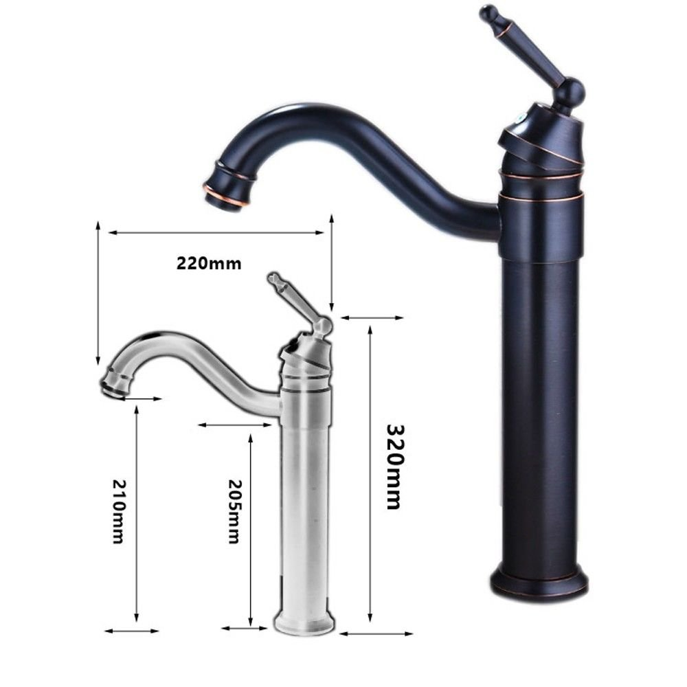 ETERNAL QUALITY Bathroom Sink Basin Tap Brass Mixer Tap Washroom Mixer Faucet The copper bathroom faucet mixer kitchen faucet B Kitchen Sink Taps