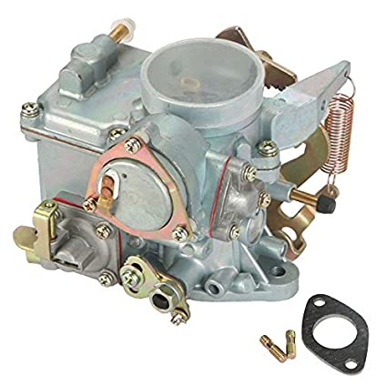 Partol Car Carburetor Fit 1971-1979 VW Beetles Super Beetles Dual Port  1600cc 34 Pict-3 VW Volkswagen Air Cooled Type 1 Engines - Automatic Choke
