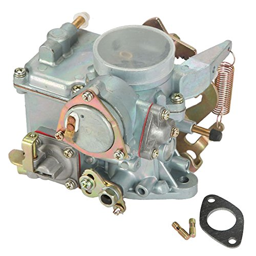 Partol Car Carburetor Fit 1971-1979 VW Beetles Super Beetles Dual Port 1600cc 34 Pict-3 VW Volkswagen Air Cooled Type 1 Engines - Automatic Choke (98-1289-b,113129031k)