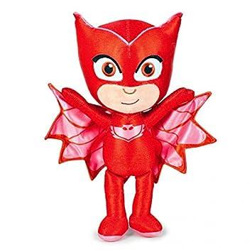 PTS - PJ MASK Buhíta Owlette Felpa Gigante XXL 60cm Carácter PJ Masks: Héroes en