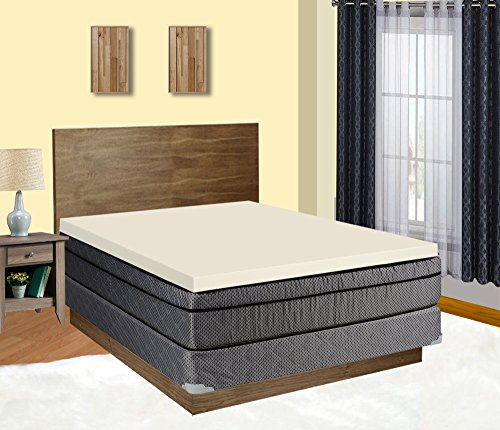 Mattress Solution 2000y-5/0 Topper, Queen, White by Mattress Solution
