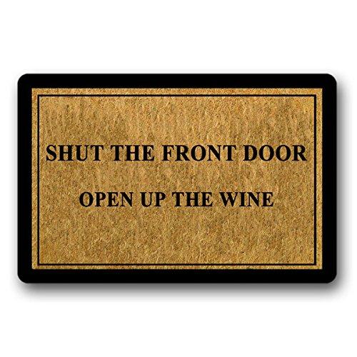 Compare Price To Open Door Wine Doormat Tragerlaw Biz