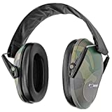 Boomstick Gun Accessories Low Profile Noise Cancelling Over The Head Folding Earmuff Noise Safety Hearing Protection