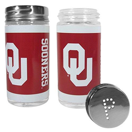 [NCAA Oklahoma Sooners Tailgater Salt & Pepper Shakers] (Oklahoma Sooners Salt)