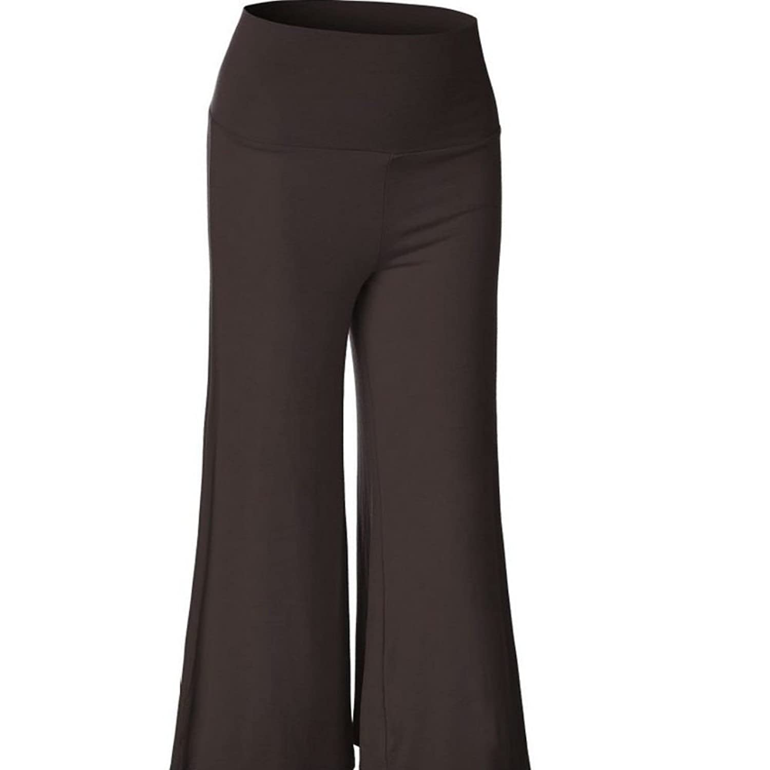 9c1585e6f8a hot sale Shinieny Women s High Waist Wide Leg Plus Size Loose Fit Solid  Casual Flare Pants
