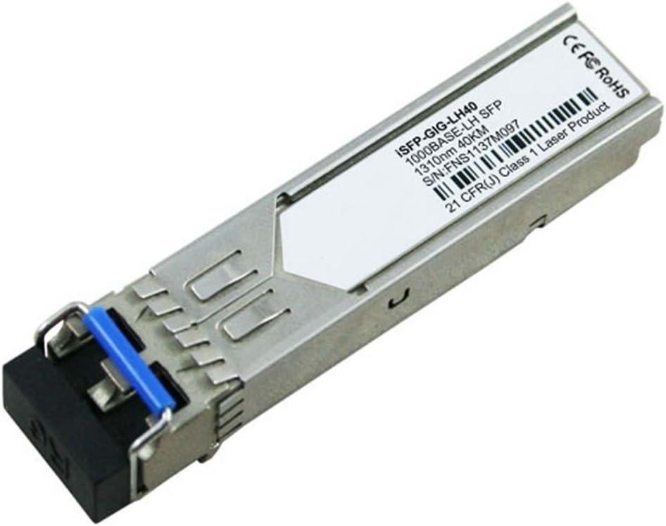 LODFIBER iSFP-GIG-LH40 Alcatel-Lucent Compatible 1000BASE-LH40 SFP 1310nm 40km DOM Transceiver