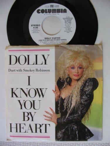 (I KNOW YOU BY HEART (DOLLY PARTON / SMOKEY ROBINSON, STEREO, 45 RPM SINGLE, PS, 1987))
