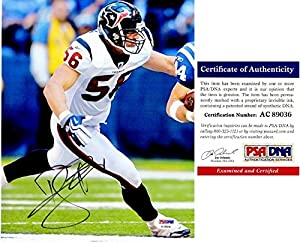 Brian Cushing Autographed Houston Texans 8x10 Photo - PSA/DNA Authentic