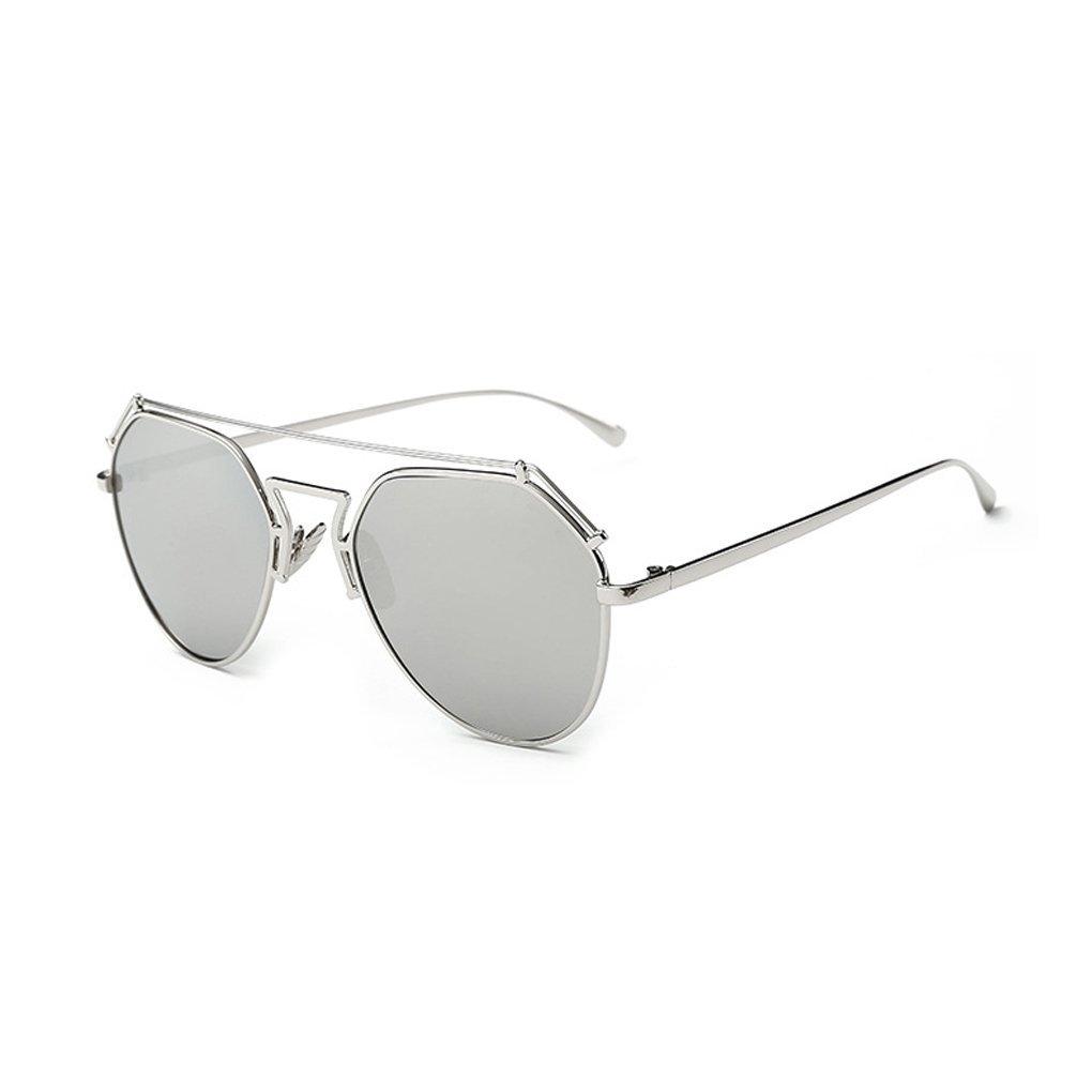 LUFA Mode féminine dame Outdoor SunglassesUV400 Sunglasses Driving Métal Lunettes Lunettes de soleil blanc W1BtMXbnN