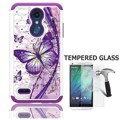 buy online ef505 fb157 LG Phoenix Plus Case (at&T), LG K30 Case (T-Mobile), LG Harmony 2 Case,  Dual Layer Crystal Cover Case for LG Premier Pro 4G LTE Prepaid Smartphone  + ...
