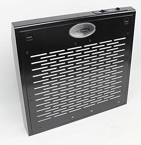 Campana extractora 50 cm libre de campana de cabeza Campana Pared Elica Negro: Amazon.es: Grandes electrodomésticos